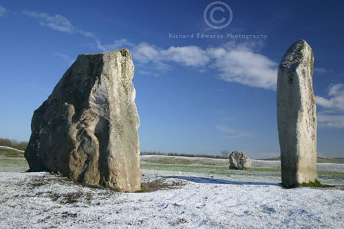The Cove Avebury in the snow