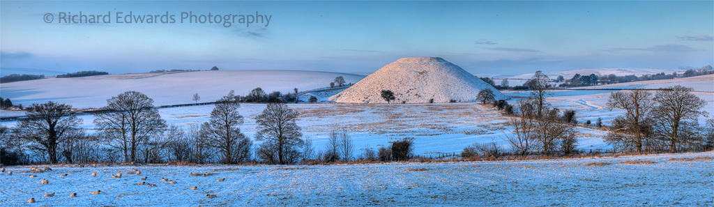 Dawn at Silbury Hill