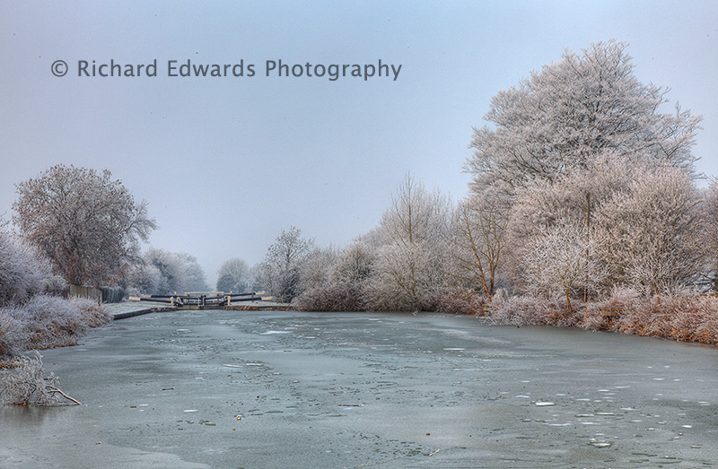 Kennet and Avon Canal in Winter
