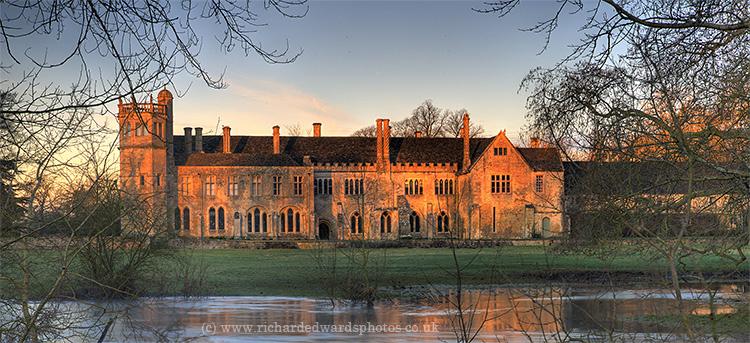 Sunrise at Lacock Abbey