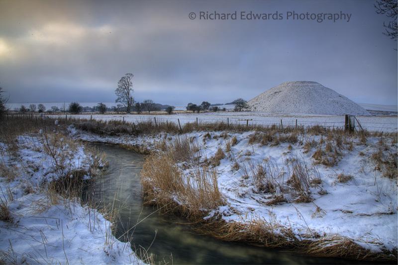 Winter at Silbury Hill