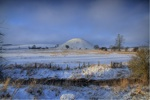 Silbury in the Snow.