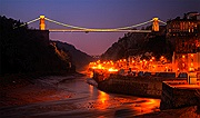 Avon Gorge at Night
